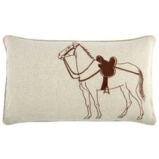 Thoroughbred 12x20 Linen Lumbar Pillow