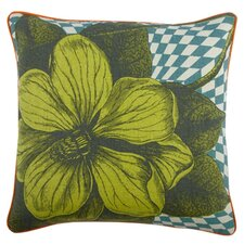 "Opticbot 18"" Botany Linen Throw Pillow"