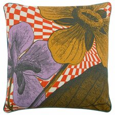 """Opticbot 22"""" Linen Throw Pillow"""