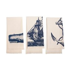 Seafarer Hand Towel (Set of 3)