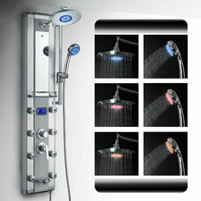 Shower Panel LED Rainfall Unit