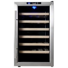 28 Bottle Single Zone Freestanding Wine Refrigerator