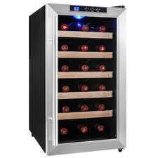 18 Bottle Single Zone Freestanding Wine Refrigerator