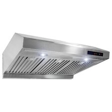 "30"" 500 CFM Ducted Under Cabinet Range Hood"