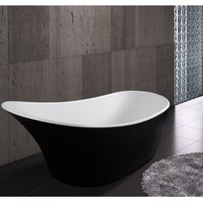 "63"" x 26.38"" Soaking Bathtub"
