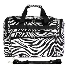 "Zebra 19"" Shoulder Duffel"