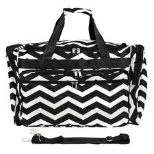 "Chevron 19"" Shoulder Duffel"