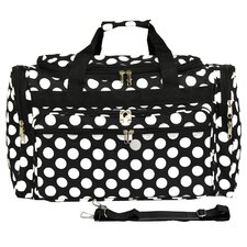 "Polka Dot ll 22"" Travel Duffel"