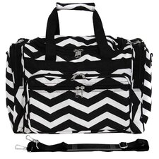 "Chevron 16"" Shoulder Duffel"