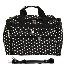 "Polka Dot 16"" Shoulder Duffel"