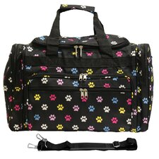 "Paws 16"" Shoulder Duffel"