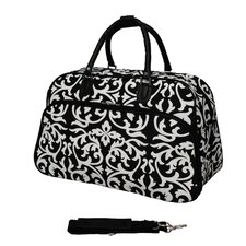 "Damask 21"" Carry-On Duffel"