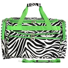"Zebra 22"" Travel Duffel"
