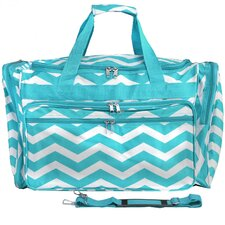 "Chevron 22"" Travel Duffel"