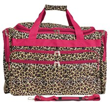 "Leopard 22"" Travel Duffel"