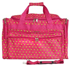 "Polka Dot 22"" Travel Duffel"
