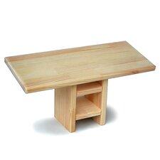 Holzküchenbank Meditation