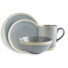 Elements Sky 16 Piece Dinnerware Set