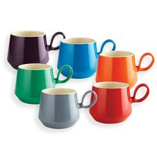Retro Flared Mug (Set of 6)