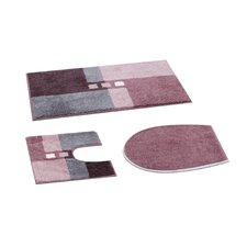 Canton 3 Piece Bath Mat Set