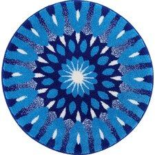 Mandala Blue Area Rug