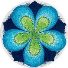 Teppich Mandala in Blau