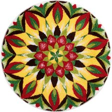 Mandala of Life Multi-Coloured Area Rug
