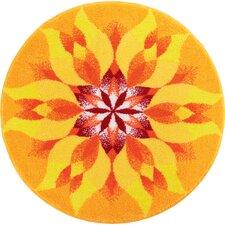 Teppich Mandala in Orange