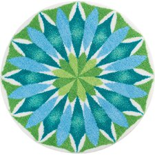 Mandala Blue/Green Area Rug