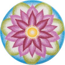 Mandala Purple Area Rug