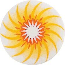 Mandala Yellow Area Rug