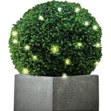 Pre-Lit Topiary Ball