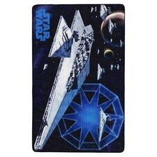 Motivteppich Star Wars in Blau