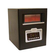 6 Element 1500 Watt Portable Quartz Infrared Heater