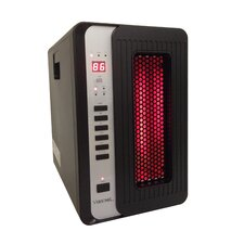 3 Element Quartz Infrared Heater w/ Remote