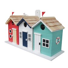 Beach Hut Bird House