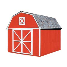 Berkely 10 Ft. W x 14 Ft. D Wood Storage Shed
