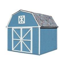 Berkely 10 Ft. W x 10 Ft. D Wood Storage Shed