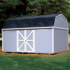 Berkley 10 Ft. W x 16 Ft. D Wood Storage Shed