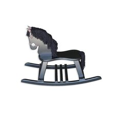 Amish Crafted Pony Rocking Horse with Mane