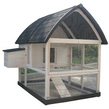 Coops & Feathers™ Country Chicken Coop