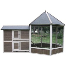 Coops & Feathers Gazebo Chicken Coop