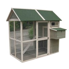 Coops and Feathers Walk-in Chicken Coop