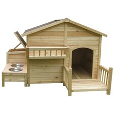 House & Paws™ Country Charm Dog House
