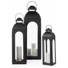 Metal and Glass Lantern