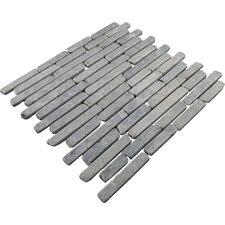 Natural Stone Sticks Random Sized Mosaic Tile Tile in Grey