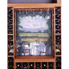 Designer Series Hanging Wine Glass Rack