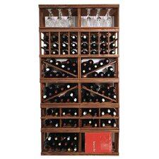 Mini Stack Series Floor Wine Bottle Rack