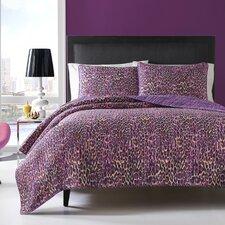 Leopard Quilt Set