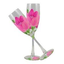 Peony Champagne Glass (Set of 2)